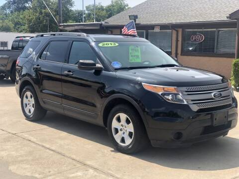 2013 Ford Explorer for sale at Safeen Motors in Garland TX