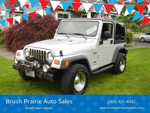 2003 Jeep Wrangler for sale in Battle Ground, WA