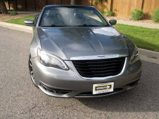 2011 Chrysler 200 Convertible S 2dr Convertible - Commerce City CO