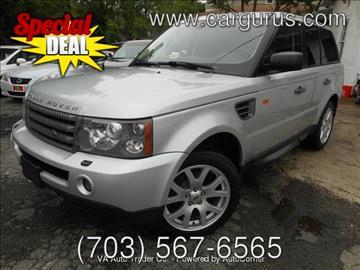 2008 Land Rover Range Rover Sport for sale at Virginia Auto Trader, Co. in Arlington VA