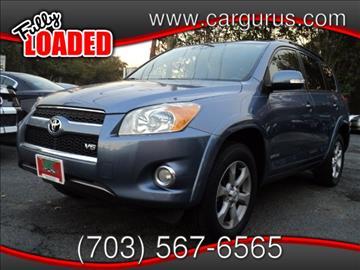2011 Toyota RAV4 for sale at Virginia Auto Trader, Co. in Arlington VA