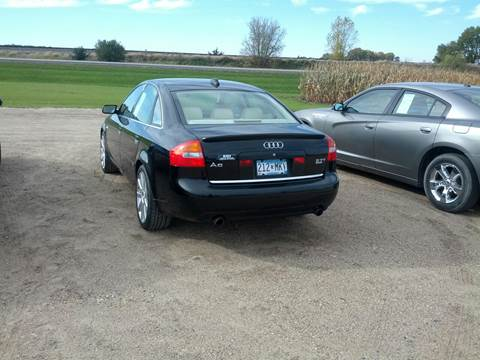 2004 Audi A6 for sale in Kerkhoven, MN