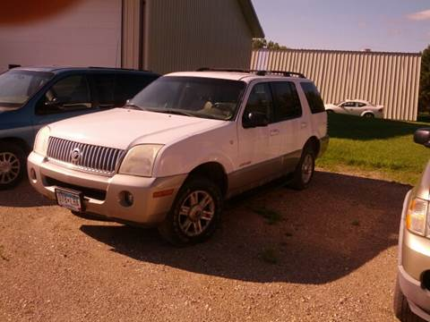 2002 Mercury Mountaineer for sale at RDJ Auto Sales in Kerkhoven MN