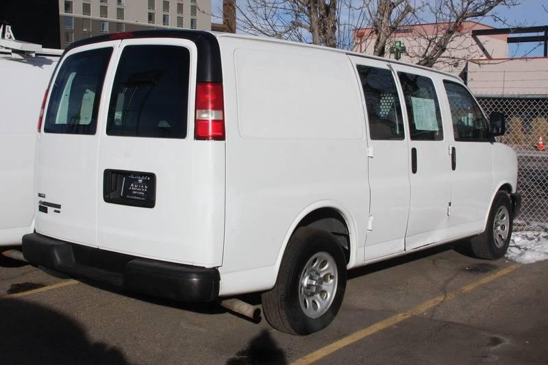 2010 Chevrolet Express Cargo Awd 1500 3dr Cargo Van In Denver Co
