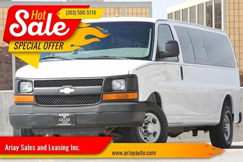2011 Chevrolet Express Passenger for sale in Denver, CO