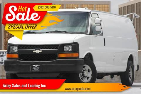 2009 Chevrolet Express Cargo for sale in Denver, CO