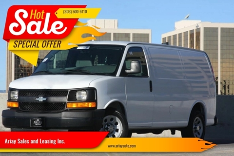 2012 Chevrolet Express Cargo for sale in Denver, CO