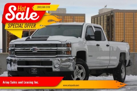 2015 Chevrolet Silverado 3500HD for sale at Ariay Sales and Leasing Inc. in Denver CO