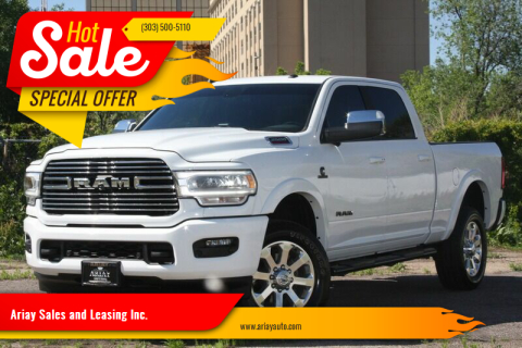2019 RAM Ram Pickup 2500 for sale at Ariay Sales and Leasing Inc. in Denver CO