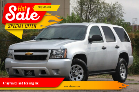 2014 Chevrolet Tahoe for sale at Ariay Sales and Leasing Inc. in Denver CO