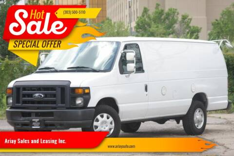 2013 Ford E-Series Cargo for sale at Ariay Sales and Leasing Inc. in Denver CO