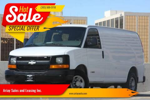 2010 Chevrolet Express Cargo for sale at Ariay Sales and Leasing Inc. in Denver CO
