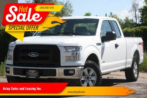 2017 Ford F-150 for sale at Ariay Sales and Leasing Inc. in Denver CO