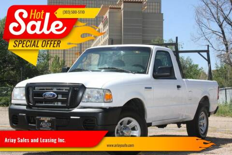 2008 Ford Ranger for sale at Ariay Sales and Leasing Inc. in Denver CO