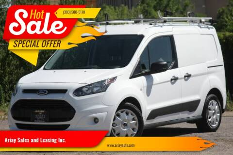 2015 Ford Transit Connect Cargo for sale at Ariay Sales and Leasing Inc. in Denver CO