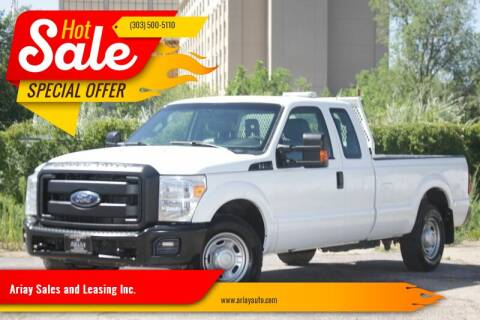 2015 Ford F-250 Super Duty for sale at Ariay Sales and Leasing Inc. in Denver CO