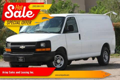 2011 Chevrolet Express Cargo for sale at Ariay Sales and Leasing Inc. in Denver CO