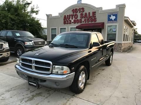 1997 Dodge Dakota for sale in Houston, TX