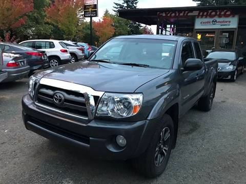 2009 Toyota Tacoma for sale at Exotic Motors in Redmond WA