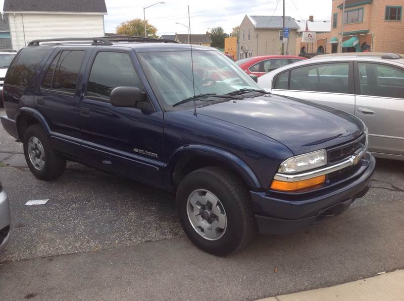 2002 Chevrolet Blazer for sale at Sindic Motors in Waukesha WI