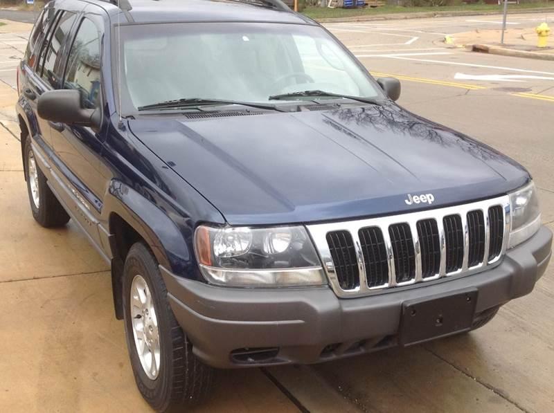 2002 Jeep Grand Cherokee for sale at Sindic Motors in Waukesha WI