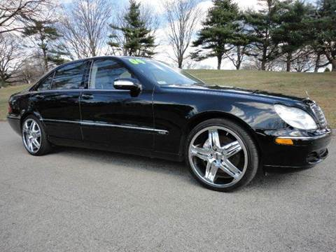 2004 Mercedes-Benz S-Class for sale at RT 130 Motors in Burlington NJ