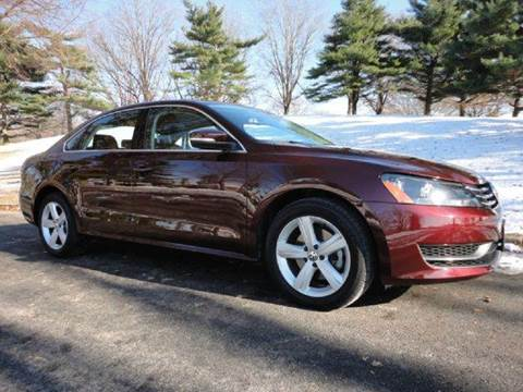 2013 Volkswagen Passat for sale at RT 130 Motors in Burlington NJ