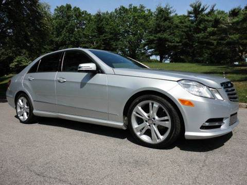 2013 Mercedes-Benz E-Class for sale at RT 130 Motors in Burlington NJ