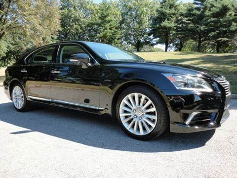 2014 Lexus LS 460L for sale at RT 130 Motors in Burlington NJ