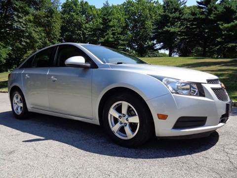 2011 Chevrolet Cruze for sale at RT 130 Motors in Burlington NJ
