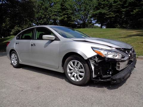 2016 Nissan Altima for sale at RT 130 Motors in Burlington NJ