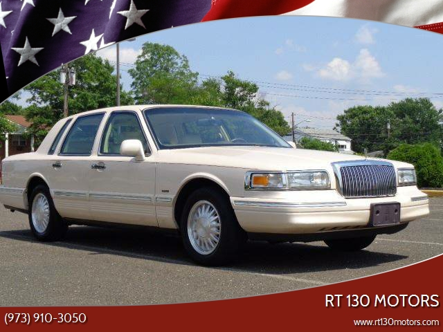 1997 Lincoln Town Car Cartier 4dr Sedan In Burlington Nj Rt 130 Motors