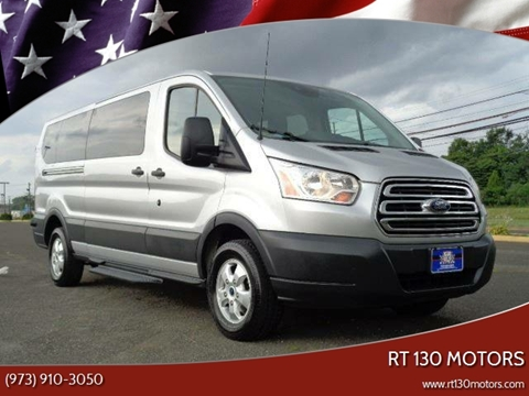 2017 Ford Transit Passenger for sale at RT 130 Motors in Burlington NJ