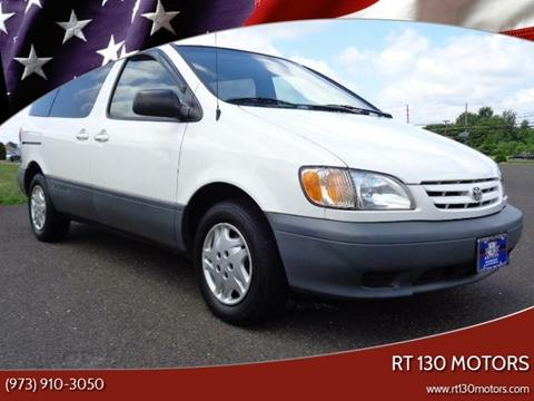 2002 Toyota Sienna for sale at RT 130 Motors in Burlington NJ