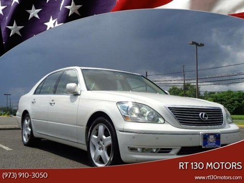2006 Lexus LS 430 for sale at RT 130 Motors in Burlington NJ