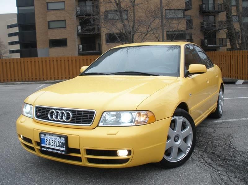 Audi S Quattro In Kansas City MO Autobahn Motors USA - 2001 audi s4