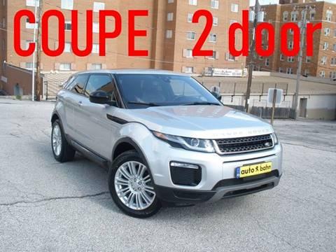 2016 Land Rover Range Rover Evoque Coupe for sale in Kansas City, MO