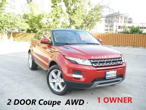 2015 Land Rover Range Rover Evoque Coupe for sale in Kansas City, MO