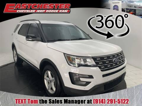 2017 Ford Explorer XLT for sale at Eastchester Chrysler Jeep Dodge in Bronx NY