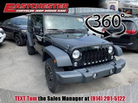 2017 Jeep Wrangler Unlimited for sale at Eastchester Chrysler Jeep Dodge in Bronx NY