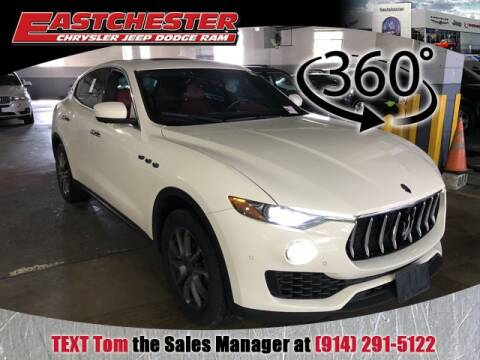2017 Maserati Levante for sale at Eastchester Chrysler Jeep Dodge in Bronx NY