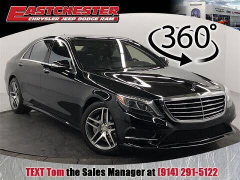2015 Mercedes-Benz S-Class S 550 4MATIC for sale at Eastchester Chrysler Jeep Dodge in Bronx NY