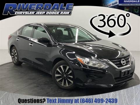 2018 Nissan Altima 2.5 SV for sale at RIVERDALE CHRYSLER JEEP in Bronx NY