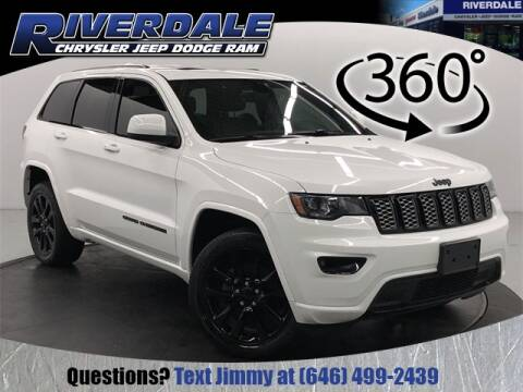 2017 Jeep Grand Cherokee Altitude for sale at RIVERDALE CHRYSLER JEEP in Bronx NY
