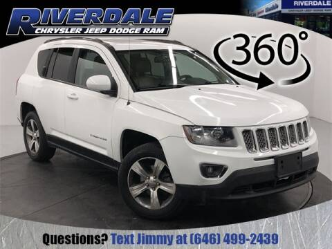 2016 Jeep Compass High Altitude for sale at RIVERDALE CHRYSLER JEEP in Bronx NY