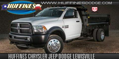 2017 RAM Ram Chassis 5500 for sale in Lewisville TX
