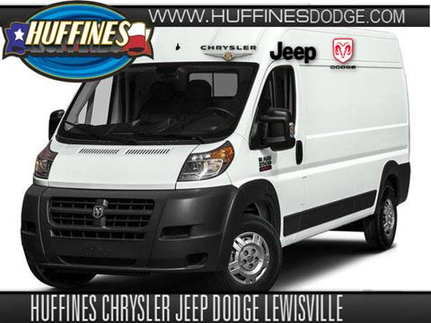2017 RAM ProMaster Cargo for sale in Lewisville TX