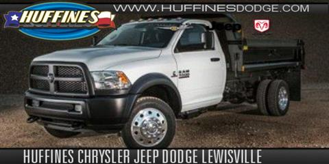 2018 RAM Ram Chassis 5500 for sale in Lewisville TX