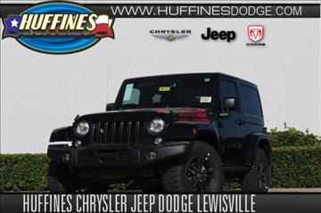2017 Jeep Wrangler for sale in Lewisville, TX