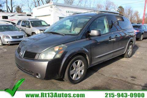 2005 Nissan Quest for sale in Levittown, PA